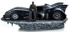 Batman Michael Keaton & Batmobile Deluxe 1:10 Scale statue Iron Studios Sideshow
