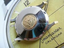 Vintage Gold Capped & S/S 1960's Men's Omega Constellation Watch Case & Crystal