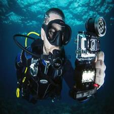 Underwater Waterproof Diving Night Video LED Light Compatible with GoPro