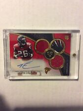 2015 Triple Threads Tevin Coleman RC Patch Auto 1/15 SSP Atlanta Falcons