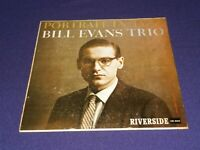 BILL EVANS TRIO -PORTRAIT IN JAZZ - RIVERSIDE - MONO- UK ORIGINAL - PRISTINE