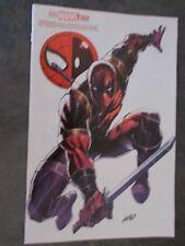 SPIDERMAN DEADPOOL 3 High Grade MegaCon Fan Expo Rob Liefeld Variant Cover X-Men