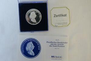 Medaillen - Preußischer Handelstaler mit der Ansicht der Stadt Potsdam (Replik)