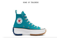 Converse VLTG Run Star Hike High Top TEAL RUSH BLUE Girls Women's Trainers