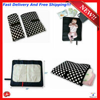 Waterproof Baby Changing Mat Cover For Diaper Portable Change Pad Travel Station