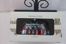 Ornament Airstream Camper Glass Ornament Trimsetters Orig $35.00 NEW