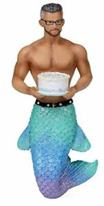Beef Cake Merman December Diamonds Festive Christmas Holiday Ornament