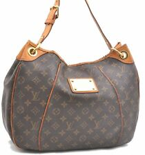 Authentic Louis Vuitton Monogram Galliera PM Shoulder Bag M56382 LV A3485