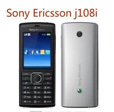 100% Original Unlocked Sony Ericsson j108i Mobile Phone 3G Bluetooth FM J108