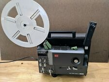 1979 Japan Elmo GS-800 STEREO magnetic super 8mm sound projector w accessories