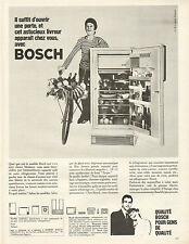 Publicité Advertising 1966  BOSCH réfrigérateur congélateur