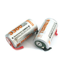 15 Pcs SubC Sub C 3300mAh NiMH Rechargeable Battery with Tab Ultracell