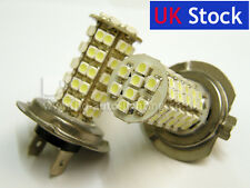 2x H7 68 SMD LED STRONGER 8W POWER 8000K Fog Car Bulbs BMW