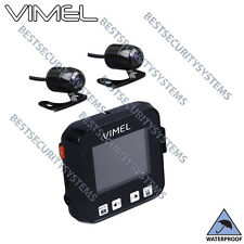 Motorbike camera Dual MotorCycle Twin Dash Car Waterproof Hardwired Truck K1S