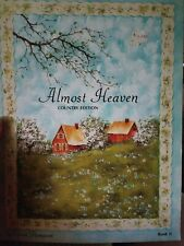 Decorative Tole Painting Pattern Book Almost Heaven Country Edition Book 2