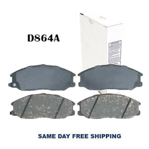 New Ceramic Front Brake Pad For Hyundai Santa Fe, Sorento, Sedona 02-06