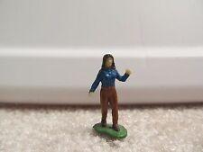 1/64 Ertl Farm Country walking girl figurine