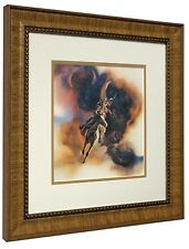 BEV DOOLITTLE 'WSS' Runs with Thunder  Matted & Framed Fine Art Print Buffalo