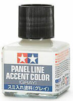 TAMIYA Panel Line Accent Color Gray For Plastic Model Kits #87133