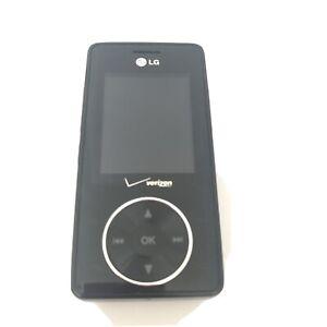 LG VX8500 Verizon BLACK Cell Phone Slider Music Camera 3G Chocolate Prop Vtg