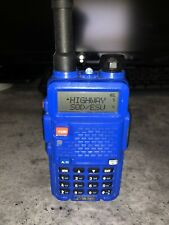 baofeng uv-5r nypd programmed