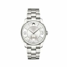 Movado 0606618 Women's LX Silver-Tone Quartz Watch