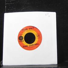 """Glen Campbell - True Grit / Hava Nagila 7"""" VG+ 2573 Vinyl 45 Capitol Records USA"""