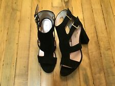 KATE SPADE OPEN TOE SUEDE HEEL SHOES NEW SIZE 9