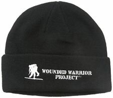 Under Armour Men's WWP Veterans Stealth Beanie Hat, Black/Black, One Size