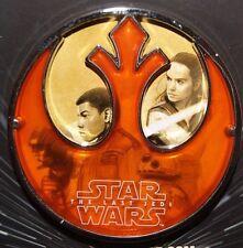Disney Star Wars Celebration 2017 The Last Jedi Force for Change Finn&rey Pin LR