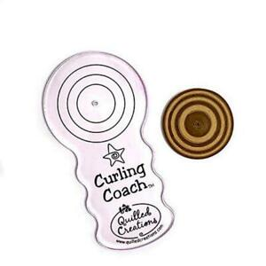 Quilled Creations: Curling Coach