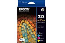 EPSON 252 GENUINE 4 INK CARTRIDGE VALUE Cartridge - Black, Cyan, Magenta,Yellow