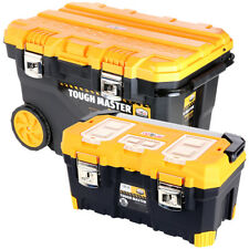 Tough Master Tool Chest Professional Mobile 28'' on Wheels With Tote Tray