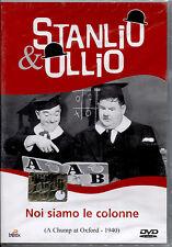 STANLIO & OLLIO: NOI SIAMO LE COLONNE - DVD NUOVO SIGILLATO, NO EDICOLA