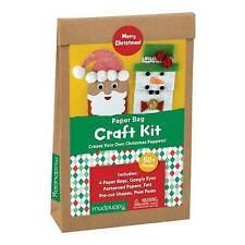 Merry Christmas! Paperbag Craft Kit by Mudpuppy (Undefined, 2016)