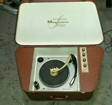 Magnavox Transistor Portable Stereo VINTAGE Micromatic Turntable Record Player