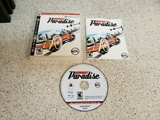 Burnout Paradise (Sony PlayStation 3) PS3 Complete works great free shipping