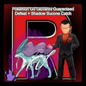 Pokémon Giovanni Go Guaranteed Defeat & Shadow Suicone Catch