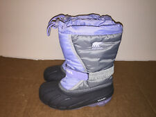 SOREL Child Blue Insulated Waterproof Winter Snow Boots NY1810-540 - US 3