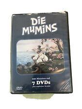 Die Mumins - Box 7 DVDs (2004) Box etwas mitgenommen, DVDs in gutem Zustand