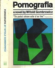 RARE 1966 FIRST EDITION POLAND POLISH AUTHOR WITOLD GOMBROWICZ PORNOGRAFIA DJ