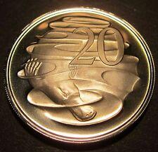 1972 Australia PROOF 20c Twenty Cents #872-20 #RB1703-34 SP72-20