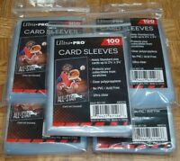 500 ULTRA PRO Soft CARD SLEEVES NEW No PVC Penny Sleeve Sports Trading Baseball