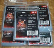 500 ULTRA PRO Soft CARD SLEEVES NEW No PVC Penny Sleeve Sports Trading Baseball