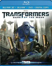 Transformers: Dark of the Moon 3D (3D Blu-ray + Blu-ray + DVD)