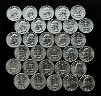 1964-D 25C Washington Quarter (Five BU Coins)