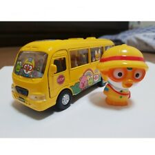 [Pororo] and Friends Kindergarten Bus Metal Die Cast Toy Set Kids Gift