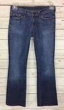 COH Citizens Of Humanity Kelly #001 Stretch Low Waist Boot Cut Jeans Size 26