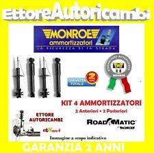N.4 AMMORTIZZATORI MONROE FIAT CINQUECENTO (170) DAL 1991 AL 1999 500 NUOVI