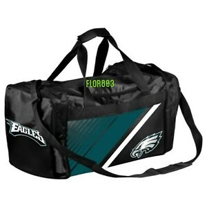 Philadelphia Eagles NFL Gym Travel Luggage Medium Duffel Bag
